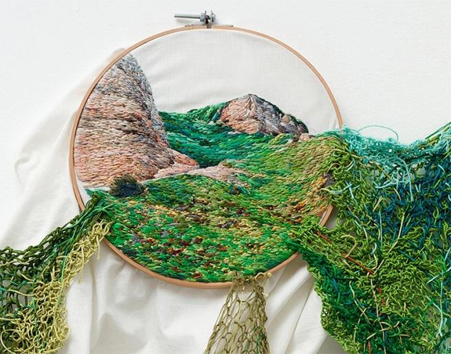 ann teresa barboza embroidery artist