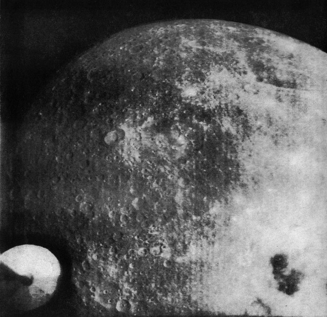 First image of the far side of the moon